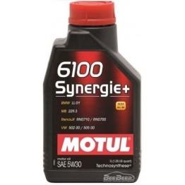 Моторное масло Motul 6100 Synergie+ 5w-30 838501/106521 1 л