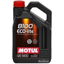 Моторное масло Motul 8100 Eco-lite 5w-30 839551/104989 5 л