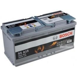 Аккумулятор автомобильный Bosch S5 AGM 105Ah START-STOP (0 092 S5A 150)