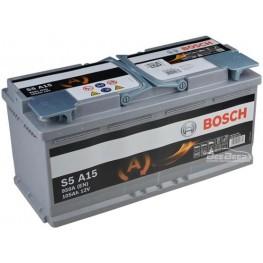 Аккумулятор автомобильный Bosch S5 AGM 95Ah START-STOP (0 092 S5A 130)