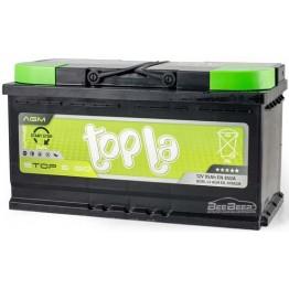 Аккумулятор автомобильный Topla AGM 95Ah START-STOP R+