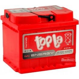 Аккумулятор автомобильный Topla Energy 45Ah R+