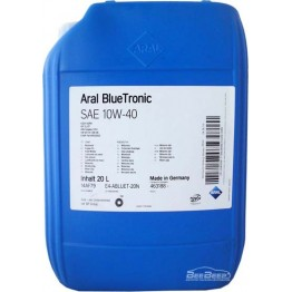 Моторное масло Aral BlueTronic 10w-40 20 л