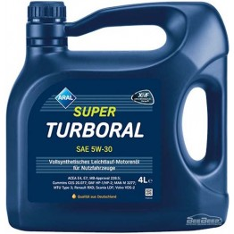 Моторное масло Aral SuperTurboral 5w-30 4 л