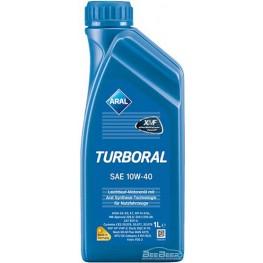 Моторное масло Aral Turboral 10w-40 1 л