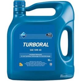Моторное масло Aral Turboral 10w-40 5 л