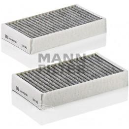 Фильтр салонный угольный Mann-Filter CUK 2646-2 (комплект)