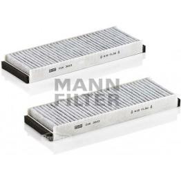 Фильтр салонный угольный Mann-Filter CUK 3023-2 (комплект)