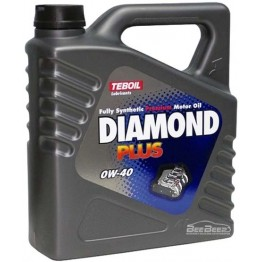 Моторное масло Teboil Diamond Plus 0W-40 4 л