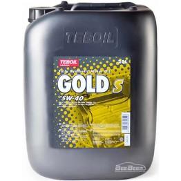 Моторна олива Teboil Gold S 5W-40 20 л