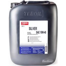 Моторное масло Teboil Silver 10W-40 20 л