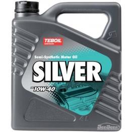 Моторное масло Teboil Silver 10W-40 4 л