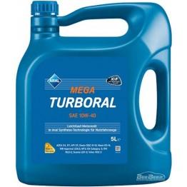 Моторное масло Aral MegaTurboral 10w-40 5 л