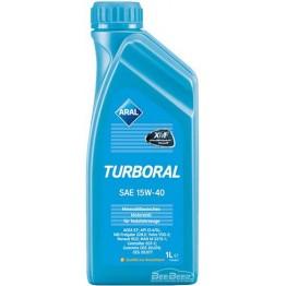 Моторное масло Aral Turboral 15w-40 1 л