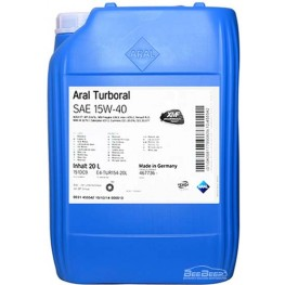 Моторное масло Aral Turboral 15w-40 20 л