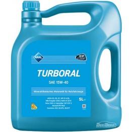 Моторное масло Aral Turboral 15w-40 5 л