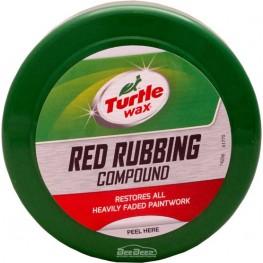 Паста тонко абразивная красная Turtle Wax Red Rubbing Compound 51770 250 г