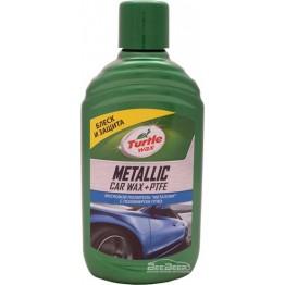 Восковый полироль «Металлик» с полимером ПТФЭ Turtle Wax Metallic Car Wax + PTFE 52889 300 мл