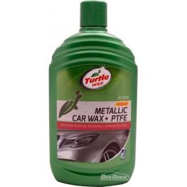 Восковый полироль «Металлик» с полимером ПТФЭ Turtle Wax Metallic Car Wax + PTFE 53020 500 мл