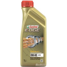 Моторное масло Castrol EDGE 0w-40 A3/B4 Titanium 1 л