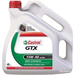 Моторное масло Castrol GTX 15w-40 A3/B3 4 л