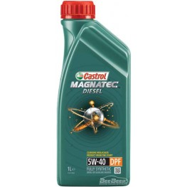 Моторное масло Castrol Magnatec Diesel 5w-40 DPF 1 л