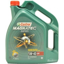 Моторное масло Castrol Magnatec Diesel 5w-40 DPF 5 л
