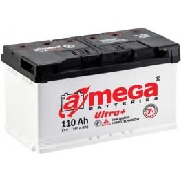 Аккумулятор автомобильный A-Mega Ultra+ 6СТ-110-Аз R+