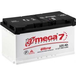 Аккумулятор автомобильный A-Mega Ultra 6СТ-105-Аз R+
