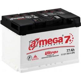 Аккумулятор автомобильный A-Mega Ultra+ 6СТ-77-Аз R+