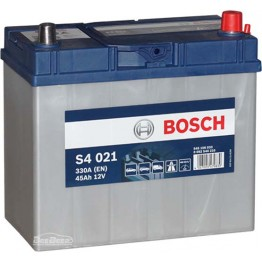Аккумулятор автомобильный Bosch S4 Silver Asia 45Ah (0 092 S40 210)