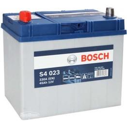 Аккумулятор автомобильный Bosch S4 Silver Asia 45Ah (0 092 S40 230)