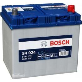 Аккумулятор автомобильный Bosch S4 Silver Asia 60Ah (0 092 S40 240)