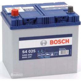 Аккумулятор автомобильный Bosch S4 Silver Asia 60Ah (0 092 S40 250)