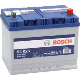 Аккумулятор автомобильный Bosch S4 Silver Asia 70Ah (0 092 S40 260)