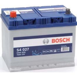 Аккумулятор автомобильный Bosch S4 Silver Asia 70Ah (0 092 S40 270)