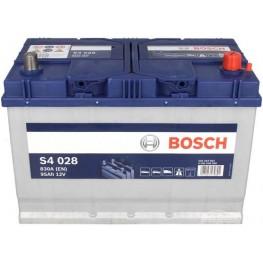 Аккумулятор автомобильный Bosch S4 Silver Asia 95Ah (0 092 S40 280)
