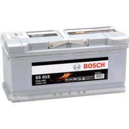 Аккумулятор автомобильный Bosch S5 Silver Plus 110Ah (0 092 S50 150)
