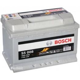 Аккумулятор автомобильный Bosch S5 Silver Plus 77Ah (0 092 S50 080)