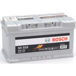 Аккумулятор автомобильный Bosch S5 Silver Plus 85Ah (0 092 S50 100)