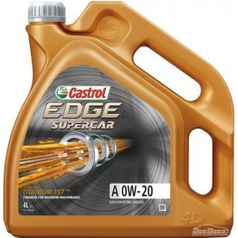 Моторное масло Castrol EDGE A 0w-20 Supercar Titanium FST 4 л