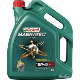 Моторное масло Castrol Magnatec Diesel 10w-40 B4 5 л