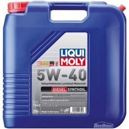 Моторное масло Liqui Moly Diesel Synthoil 5w-40 1342 20 л