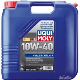 Моторное масло Liqui Moly MoS2 Leichtlauf 10w-40 1089 20 л
