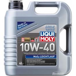 Моторное масло Liqui Moly MoS2 Leichtlauf 10w-40 1917 4 л