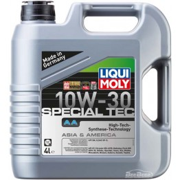 Моторное масло Liqui Moly Special Tec AA 10w-30 7524 4 л