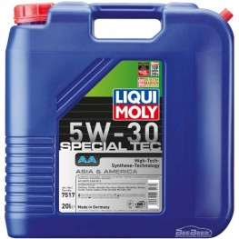 Моторное масло Liqui Moly Special Tec AA 5w-30 7517 20 л