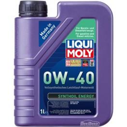 Моторное масло Liqui Moly Synthoil Energy 0w-40 1922 1 л