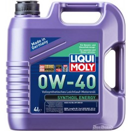 Моторное масло Liqui Moly Synthoil Energy 0w-40 7536 4 л