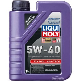 Моторное масло Liqui Moly Synthoil High Tech 5w-40 1924 1 л